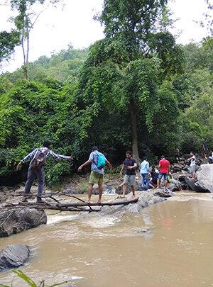 Unexplored Bastar River Crossing